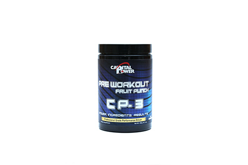 Pre-Workout Fruit Punch (360 g)